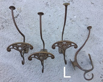 ART NOUVEAU wall hanger coat rack HANGER'S original