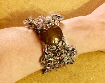 Crochet Bracelets / Mother's Day Gift / Crocheted Bracelet / Gift For Her / Bridesmaid Gift / Crocheted Bracelets / Easter Gift / Handmade