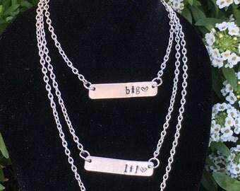 Sorority Big Lil necklace