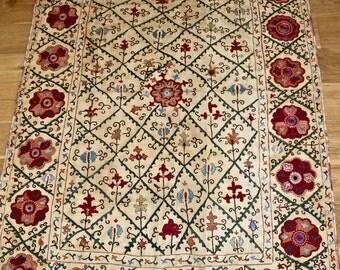 Handmade antique suzani