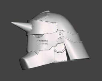 Alphonse Elric Helmet (3D Printing File Only)