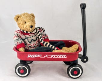 Radio Flyer Red Wagon Toy Sized, Child's Pull Toy, Photo Prop, Planter