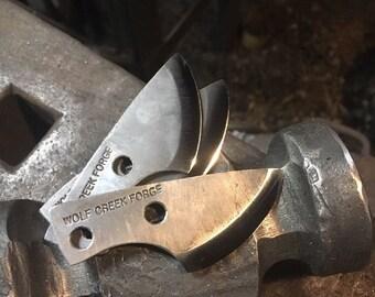 Blacksmith forged PSK Striker knife Flint Steel striker