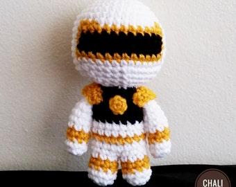 Power Ranger Crochet Doll