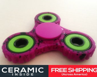 Ceramic EDC Fidget Spinner - Zombie Edition