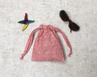 smallbags motif grains de riz - 5 couleurs - sacs coton