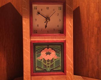 New Prairie Mantle Clock
