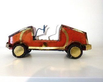 Mali recycled metal car