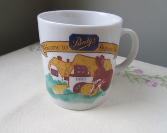 Purdy's Easter Bunny Child-sized Mug 1995
