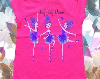 BLOSSOM-flower girl t-shirt
