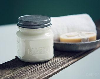 Mason Jar 8 oz Soy Candle