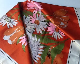 Fun Loveing, Flower Boca, Sun Loveing Fun Scarf .