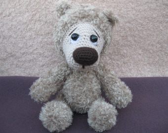 Little bear. Crochet. Handmade.