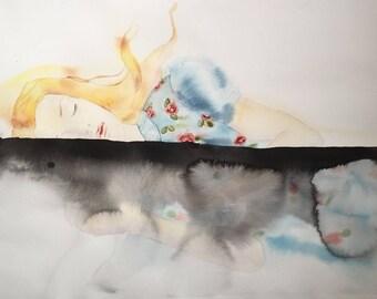 Alicia y su abismo: Limited Edition Print
