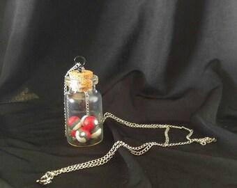 Custom Pokeball Necklace