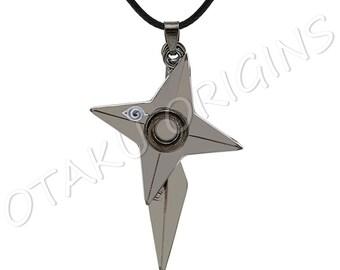 Naruto Shuriken and Kunai Necklace