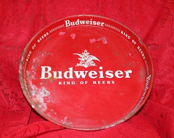 """Budweiser """"King of Beers"""" Tray"""
