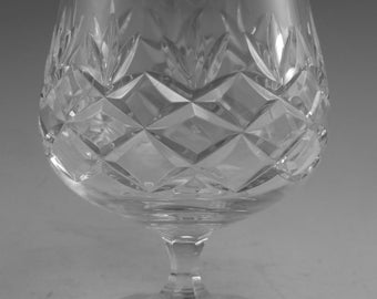 "EDINBURGH Crystal - MRUK3 Cut - Brandy Glass / Glasses - 4 1/4"""