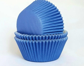 High Quality Navy Blue Standard Size Cupcake Cases Cupcake Liners