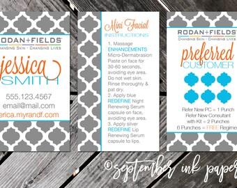 Rodan + Fields Business Card Marketing Bundle