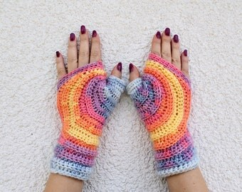 Fingerless Mittens, Fingerless Gloves, Crochet Fingerless Gloves, Womens Fingerless Gloves, Knitted Mittens, Mittens, Crochet Mittens