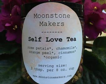 Self love herbal tea blend