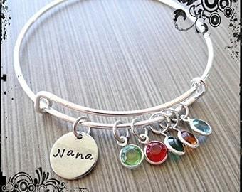 Nana/Grandma Wire Bangle/Bracelet