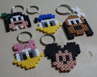 Disney Keychain Hama Beads