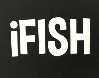 iFISH - Vinyl Decal