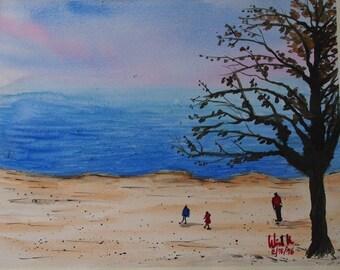 Evening Sea # 1 (Original Painting)