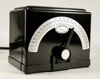 Franz electric metronome Model LM-4 Bakelite retro art deco art moderne musical accessory
