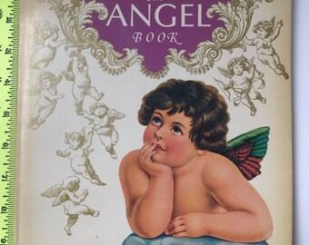 1977 The Angel Book A Balance House Ballantine Book Cutouts