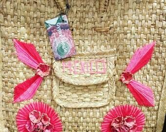 Mexican beach bag
