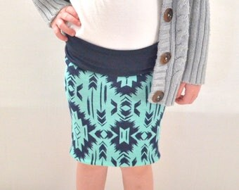 Reversible Pencil Skirts for Girls