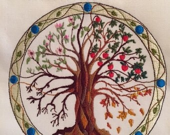 Four Seasons Tree of Life 150X150