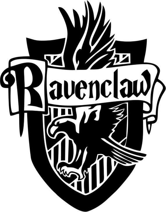 Vinyl Decal Sticker - Ravenclaw House decal inspired by Harry Potter for Windows, Cars, Laptops, Macbook etc