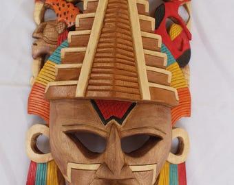 Mask Dios de la Sabiduría (Itzamna)