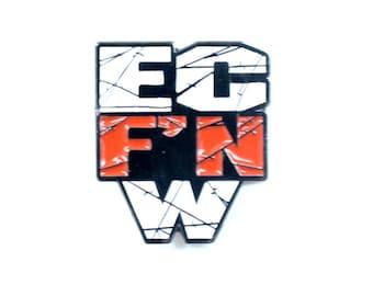 ECW 'EC F'n W' Logo Lapel Pin (Wrestling)