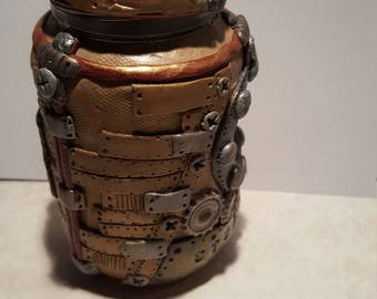 Steam punk stash jar