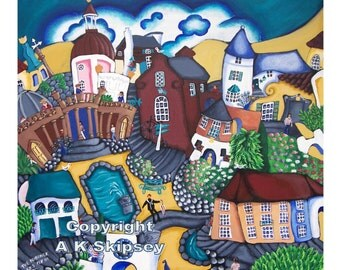 The Prisoner - Portmeirion - Welsh Art
