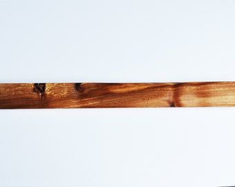 Magnetic Knife Rack Holder hand made from burr elm British hardwood