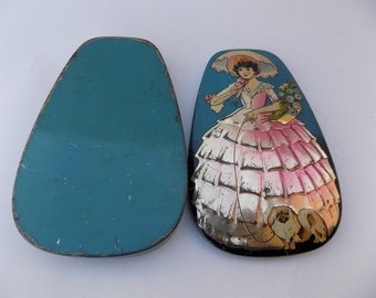 George W. Horner Vintage Tin Candy Box