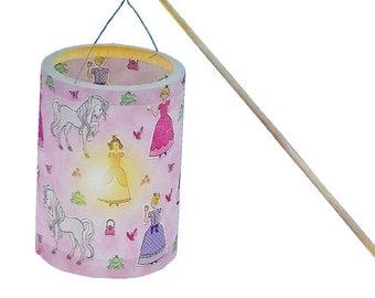 Lanterns DIY set-motif Princess Lantern - Lantern craft Kit - Lantern handicraft kit