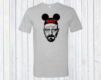 Walt Mickey Ears Men's Disney Shirt / Disneyland Shirt / Disney Lover's Shirt / Gift for Disney Lover / Gift for Dad [E0334,E0238]