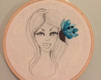 Lucy embroidery hoop