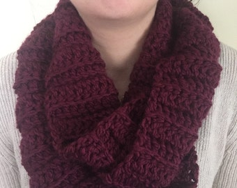 Thick and Soft Infinity Scarf