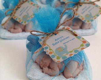 Baby shower favor etsy baby shower favors guest favors scented stones favors negle