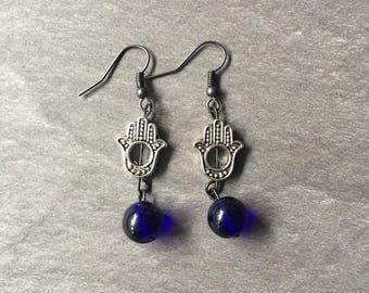 Hand of Hamsa earrings