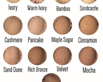 All natural loose powder mineral foundation