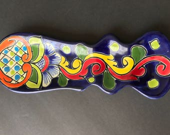 mexican pottery- Spoon rest